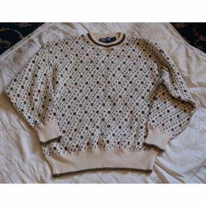 ScottishIsle oversized grandpa holiday sweater